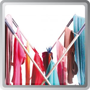 Drying laundry in the home is faster with a dehumidifier